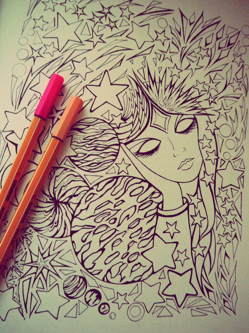 Coloriage Adulte Fini.Coloriages Anti Stress Pour Adultes Ca Fonctionne Happiness Maker