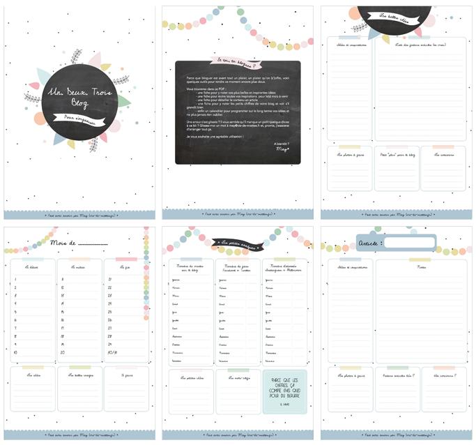 kit planner blog vie de miettes